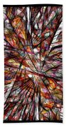 Abstraction 3101 Beach Towel