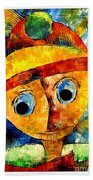 Abstraction 3203 Beach Towel