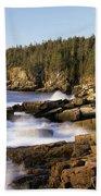Acadia National Park - Maine Usa Beach Sheet