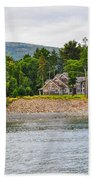 Coastal Acadia Beach Towel