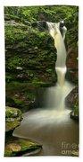 Pennsylvania Adams Falls Beach Towel