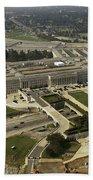 Aerial Photograph Of The Pentagon Beach Towel