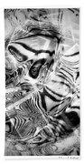 Africa Beach Towel by Visual Artist Frank Bonilla