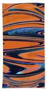 Agave Abstract Beach Towel