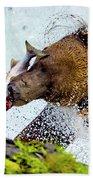 Alaska Brown Bear Beach Sheet