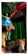 Alice In Wonderland Beach Sheet