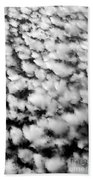 Alltocumulus Cloud Patterns Beach Towel