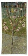 Almond Tree In Blossom Arles, April 1888 Vincent Van Gogh 1853 - 1890 Beach Towel