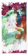 Amani African American Nude Fine Art Painting Print 4974.03 Beach Towel