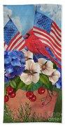 America The Beautiful-jp3210 Beach Towel