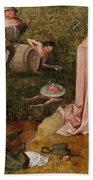 An Allegory Of Intemperance Beach Towel