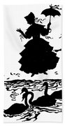 Andersen: Ugly Duckling Beach Towel