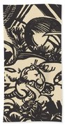 Animal Legend (tierlegende) Beach Towel