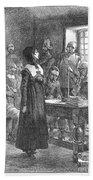 Anne Hutchinson (1591-1643) Beach Towel
