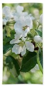 Apple Flowers Beach Towel