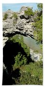 Arch Rock Mackinac Island Beach Towel