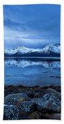 Arctic Reflections Beach Towel