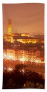 Arno River Florence Italy Beach Towel