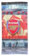 Arsenal Football Club Emirates Stadium London Beach Sheet