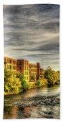 Ashton Mill, Cumberland, Ri Beach Towel