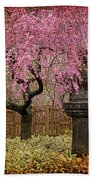 Asian Spring Beach Towel by Chris Lord