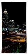 Atlanta Expressway Beach Towel