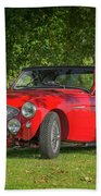 Austin Healey 100 Beach Towel