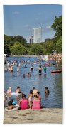 Austinites Love To Lounge In The Refreshing Waters Of Barton Springs Pool To Beat The Sizzling Texas Summer Heat Beach Towel