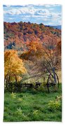 Autumn This Side Of Heaven Beach Towel
