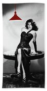 Ava Gardner Film Noir Classic The Killers 1946-2015 Beach Towel