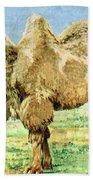 Bactrian Camel, Endangered Species Beach Towel