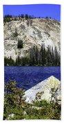 Baker Lake, Idaho Beach Towel
