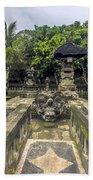 Bali Temple Beach Towel