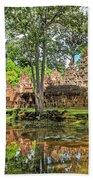 Banteay Srei Temple - Cambodia Beach Towel