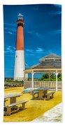 Barnegat Lighthouse Park Beach Towel