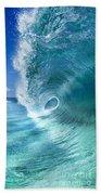 Barrel Swirl  -  Triptych  Part 2 Of 3 Beach Towel