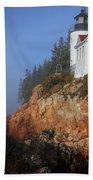 Bass Harbor Lighthouse, Acadia National Park Beach Towel