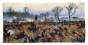 Battle Of Fredericksburg - To License For Professional Use Visit Granger.com Beach Sheet