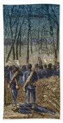 Battle Of The Wilderness, 1864 Beach Towel