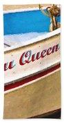 Bayou Queen Beach Towel