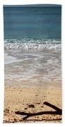 Beach At Grand Turk Beach Towel