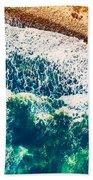 Beach Background Beach Towel