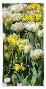 Beautiful Spring Flowers Beach Towel