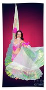 Belly Dancer  Beach Towel