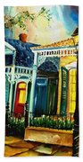 Big Easy Neighborhood Beach Towel