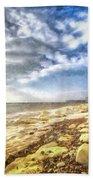 Birling Gap And Seven Sisters Art Beach Towel