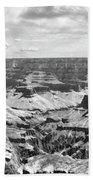 Black Grand Canyon  Beach Towel