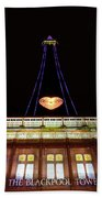 Blackpool Tower Beach Towel