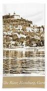 Blankenese, Hamburg, Germany Suburb, Elbe River, 1903 Beach Towel