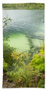 Blue Lake Stradbroke Island Beach Towel